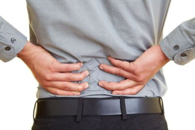 action response back pain