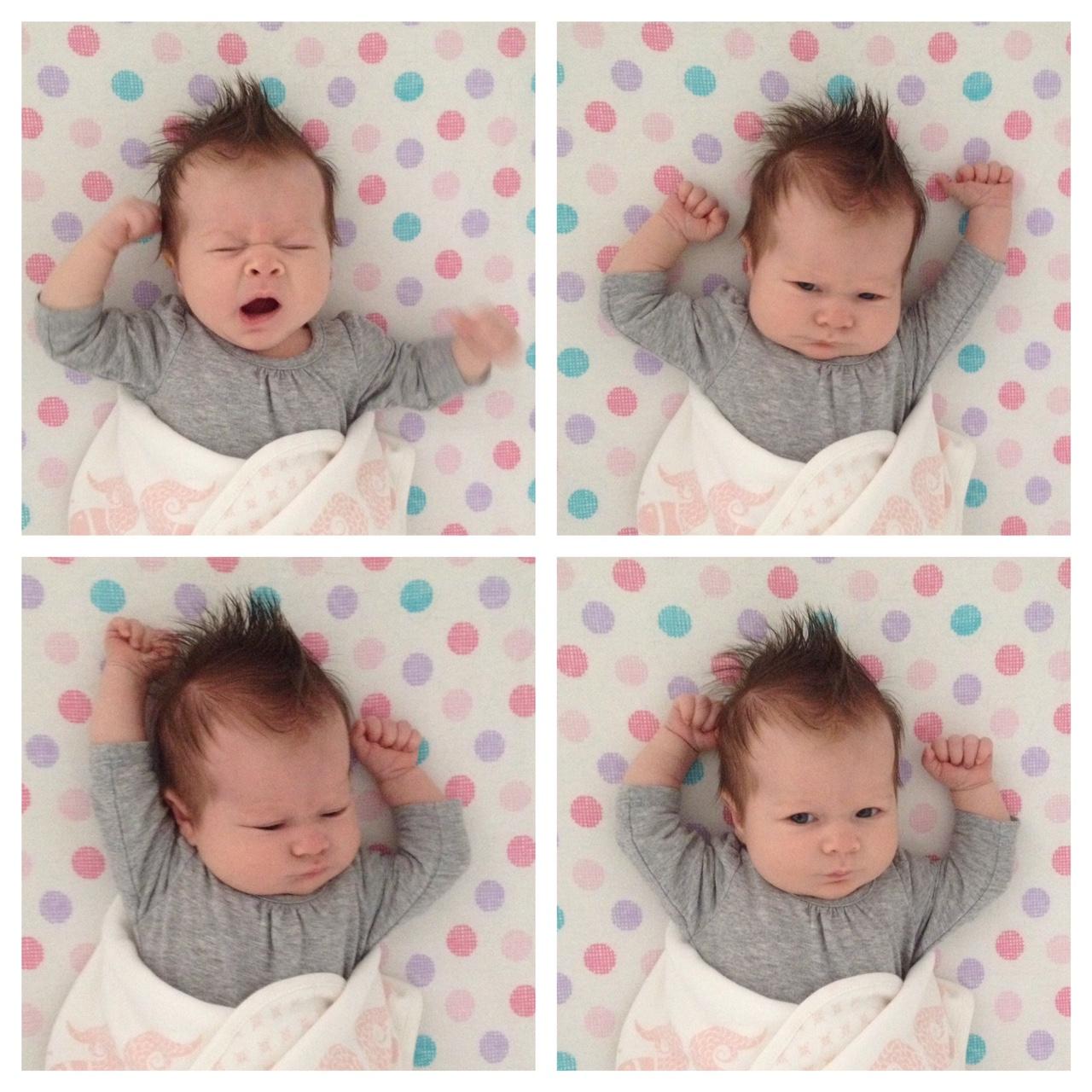baby pandiculation