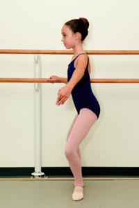 Ballet dancer lordosis