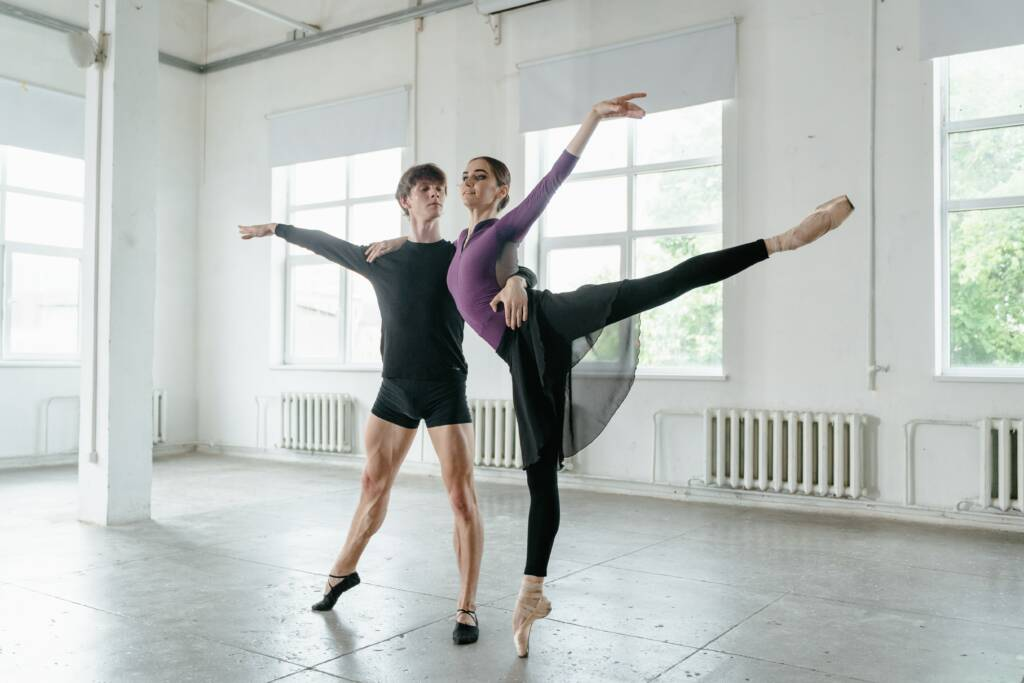 Dancer turnout injury