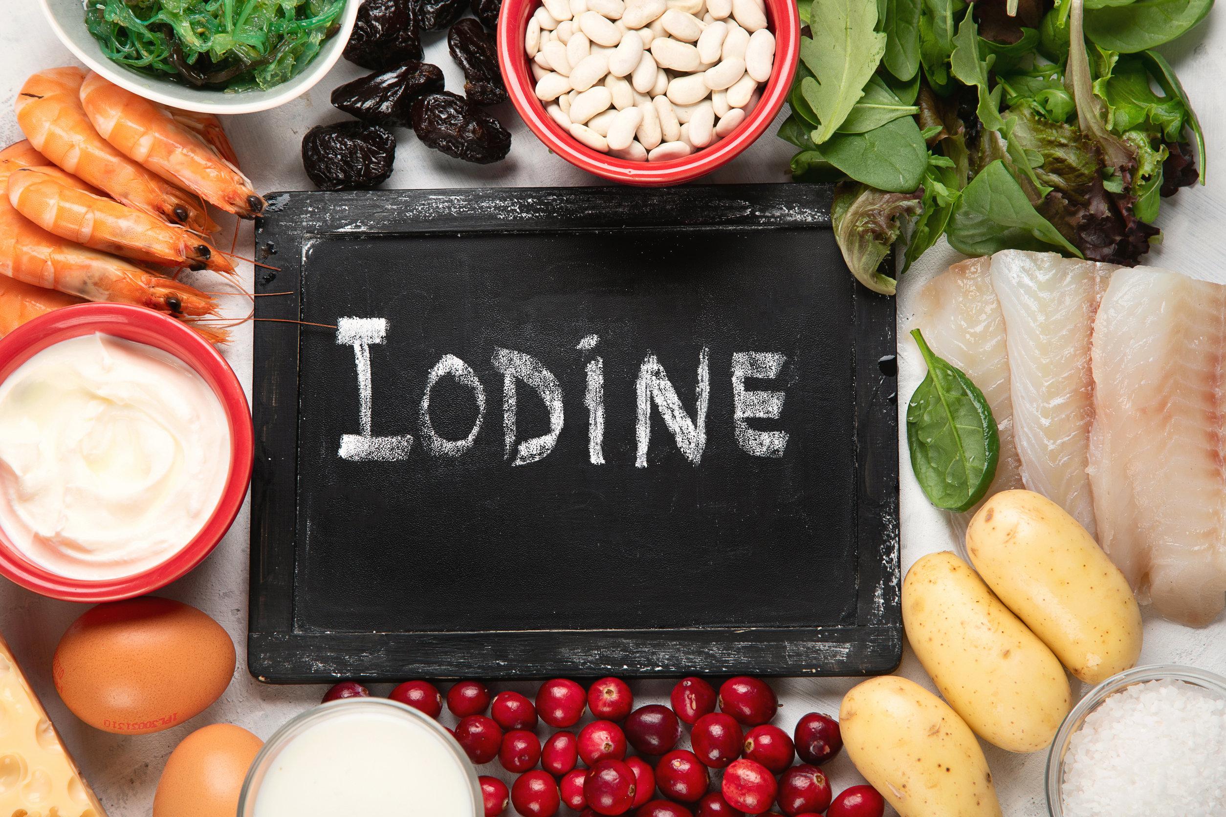 Iodine deficiency breast cancer thyroid disease